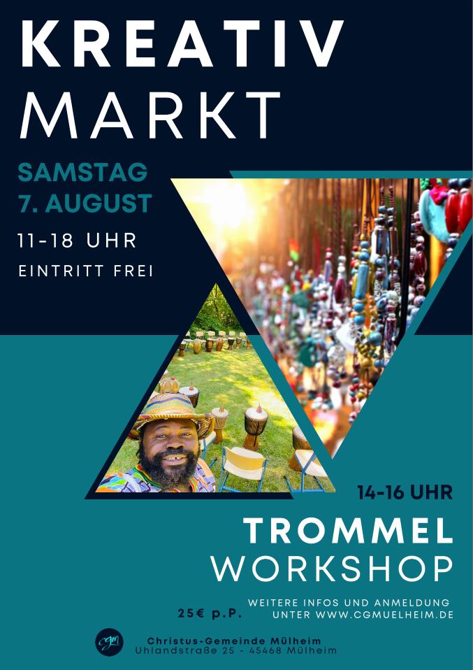 CGM Kreativ-Markt am 07. August